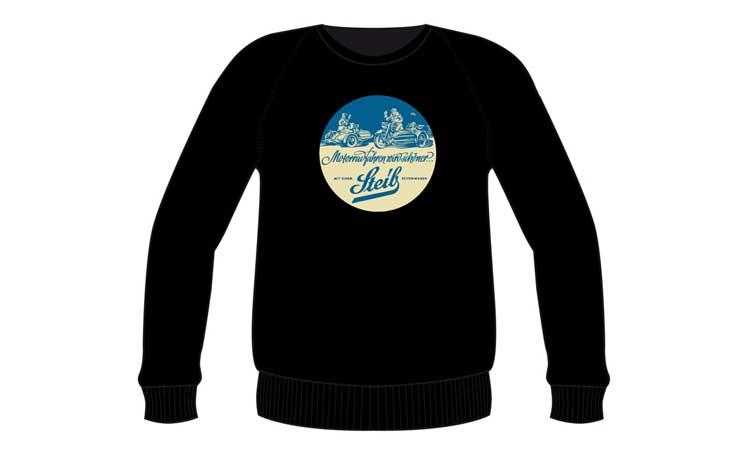 Sweatshirt mit Steib-Aufdruck