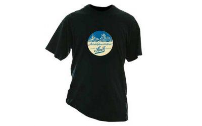 T-Shirt mit Steib-Aufdruck
